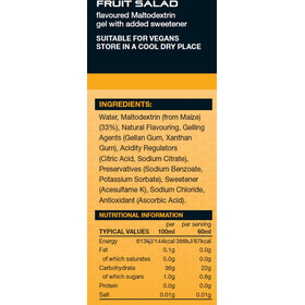 SiS GO Isotonic Energy Gel Six Pack 6x60ml, Fruit Salad